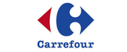 Botella cristal de Carrefour