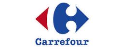 Portabicicletas portón de Carrefour