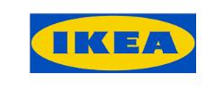 Taburete blanco de IKEA